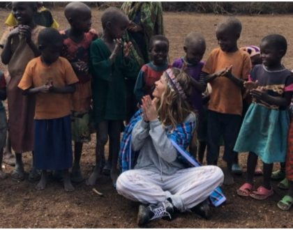 International R&B sensation Rita Ora enjoys holiday in Laikipia despite her country's travel advisory on Kenya