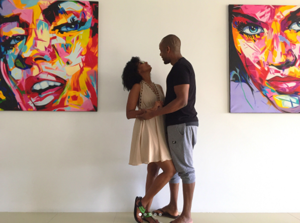 Love in the air! Beautiful photos of Sarah Hassan vacationing with her husband
