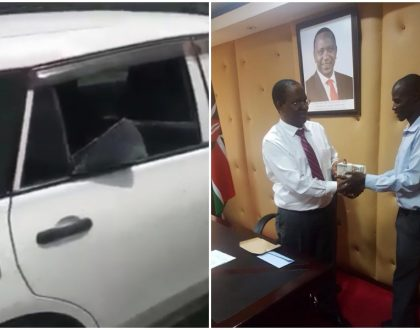 President Uhuru clears loan for taxi driver who cried like a baby after his car was stoned by Nasa supporters