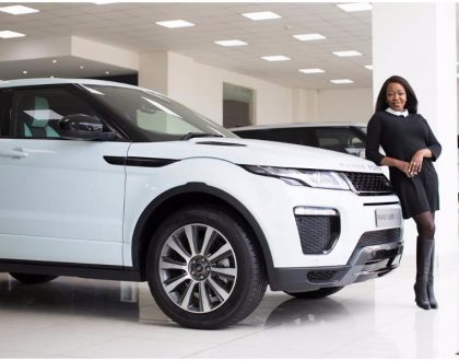 Terryanne Chebet finally buys brand new Range Rover Evoque after dreaming about owing one for 5 years (Photos)