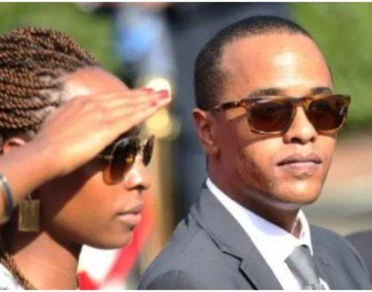 Uhuru Kenyatta's son Jomo and his wife Fiona Achola welcome a bouncing baby girl