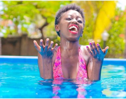 """Even if she runs mad she will still be my mother"" Akothee's daughter responds to trolls"