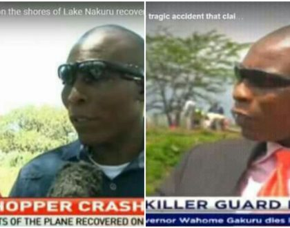 Angel of death? Man who witnessed Lake Nakuru chopper crash and governor Gakuru's accident freaks out Kenyans