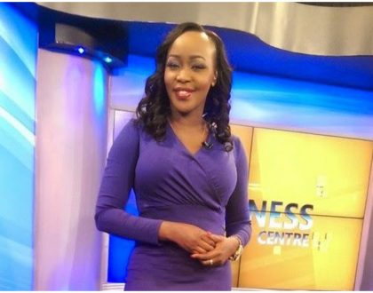 Terryanne Chebet shares first photo of her newborn baby who was born exactly a year after Citizen TV fired her