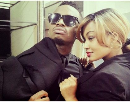 Zari shares a photo of Diamond Platnumz with 'no clothes' on