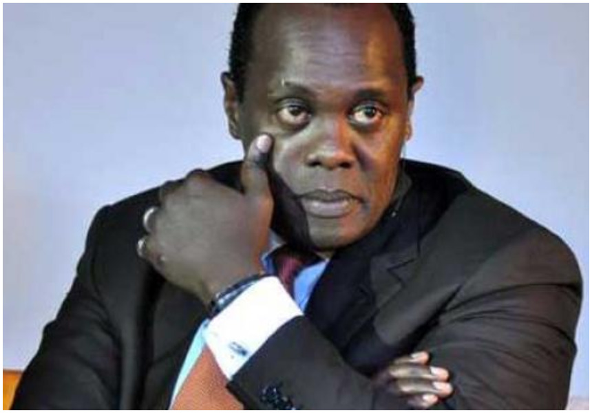 Jeff Koinange mourns the death of his centenarian granny whom he introduced on Mashujaa Day