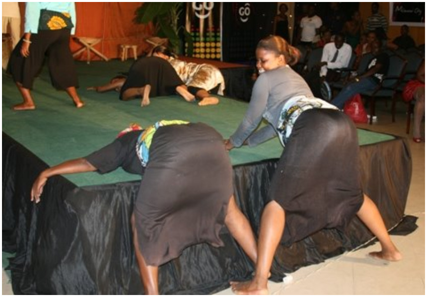 'Kidudu Mtu' hit makers Offside Trick forcefully removed from the stage in Lamu over erotic dance