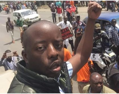 Raila Junior produces evidence to prove police fired at his father's convoy