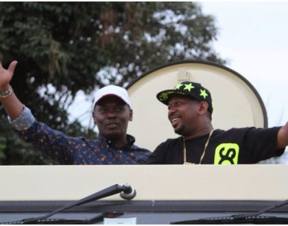 """I don't have water! Sonko snubs William Kabogo after he alerts him about dry taps at his home"