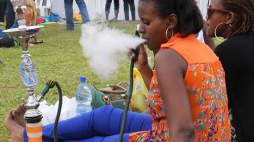 Kenyan government bans smoking of shisha