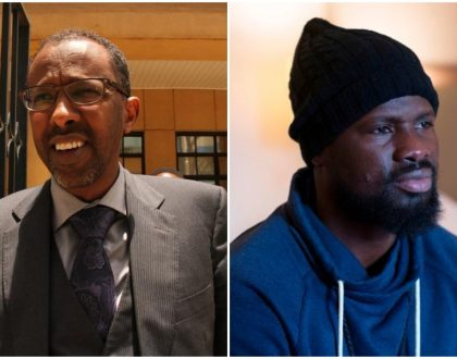 Uhuru's lawyer Ahmednasir Abdullahi‏ offers to help Arsenal ex player Emmanuel Eboue who has been reduced to a beggar by ex wife