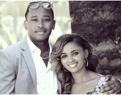 Anerlisa Muigai finally unmasks her boyfriend as he accompanies her to a ruracio in Kiambu