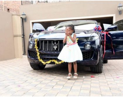 Controversial preacher who made angels appear in his church gifts his 6-year-old daughter a 2017 Maserati Levante (Photos)
