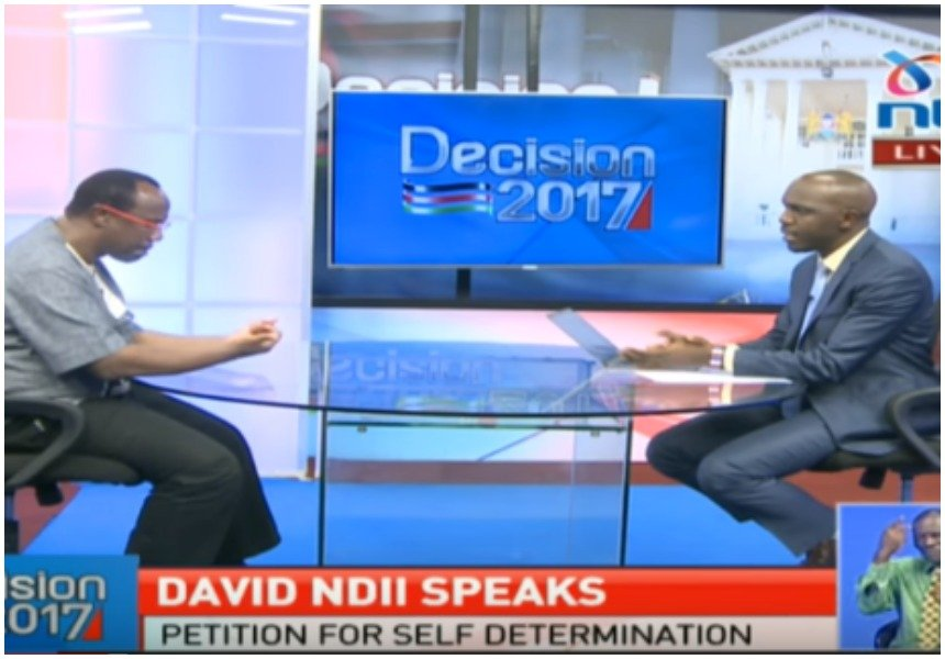 Larry Madowo will not record statement on Ndii interview: NMG
