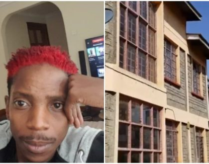 Eric Omondi: I was motivated to build my rental apartments in Kisumu after i was evicted in Nairobi West in 2010