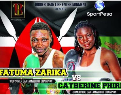 4 statistical evidence that suggest Fatuma Zarika will make mincemeat of Zambian boxer Catherine Phiri