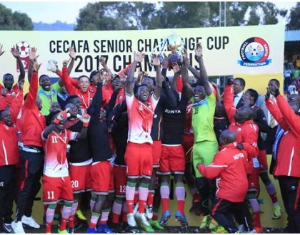 Harambee Stars players smile all the way to the bank after winning Cecafa. This is how much they pocketed