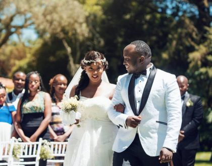 Cece Sagini weds the love of her life in a lavish wedding!