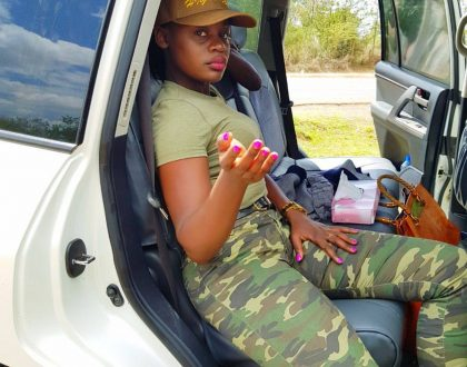 Meet Akothee's curvaceous younger sister