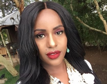 Rapper Femi One steps out in lingerie showing off her thick thighs and tiny waist, who knew she was this hot? (Photo)