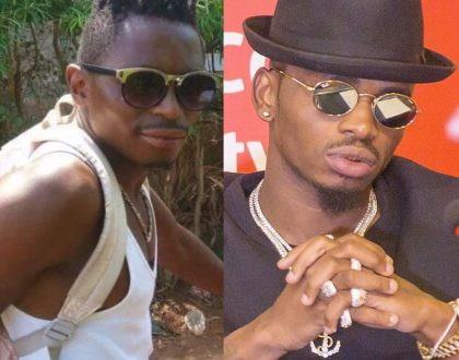 Twins? Meet the humble Kenyan bodaboda rider who looks like Diamond Platnumz