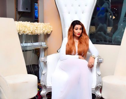 Inside Zari Hassan's fancy white party, how much did she spend for the interior design? (Photos)