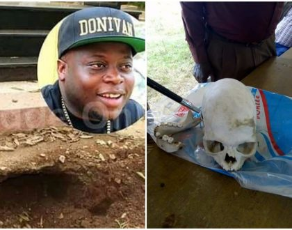 """Witch-doctors in Kayunga have been asking clients to get Ivan's skull"" Relative explains the craze to unearth Ivan Ssemwanga's grave"