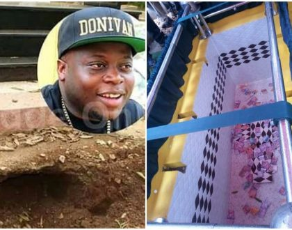But why did you bury him with money? Thieves finally vandalize Ivan Ssemwanga's grave