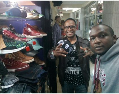 Meet Tom Mboya street-based stylist who is dressing top comedians and singers including Mr Nice (Photos)