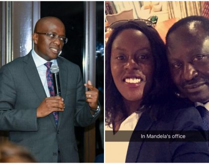 Raila Odinga's daughter and Nairobi deputy governor Polycarp Igathe throw words at each other