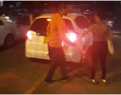 Misogynists grumble as Sharon Mundia's husband is seen drunk and in company of another woman