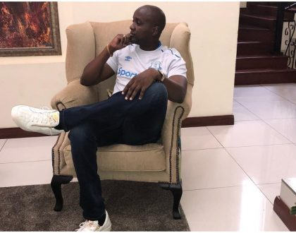 SportPesa CEO Ronald Karauri unleashes his expensive kicks days after Joho made headlines with Kes 92,000 sneakers (Photos)