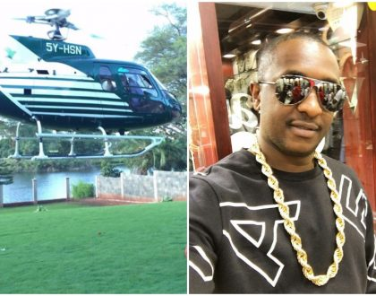 Karen residents file noise complaint against Steve Mbogo's helicopter