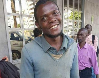 The kind streetboy who picked Ksh 200,000 and returned to the owner said to have passes on