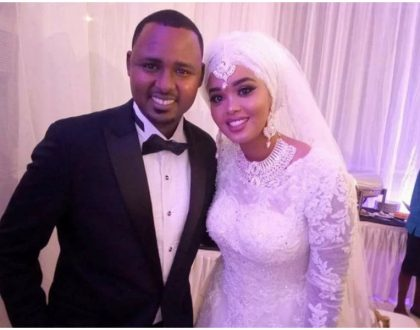 KTN anchor Yussuf Ibrahim exchanges vows with his sweetheart in a colorful wedding (Photos)