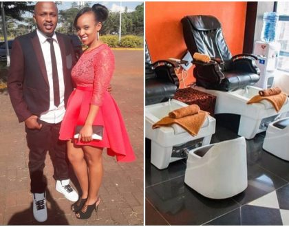 Shove off Posh Palace! DJ Creme's wifeDenise King'ang'i opens high-end salon in Westlands