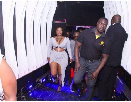 Pierra Makena leaves no room for imagination as she flaunts her sexy figure and flat belly at X/S Millionaires Club