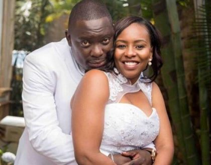 Citizen TV's Mike Njenga shows off his romantic side in a message dedicated to his wife on their 2nd wedding anniversary