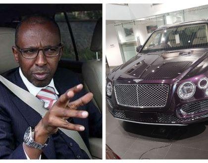 Uhuru's lawyer Ahmednasir Abdullahi acquires brand new Kes 23 million Bentley Bentayga