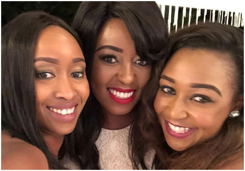 Anerlisa Muigai's star-studded party graced by prominent TV girls and politicians including Gladys Boss Shollei (Photos)