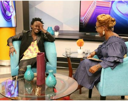Bahati slams Willy Paul in his first TV interview in 2018