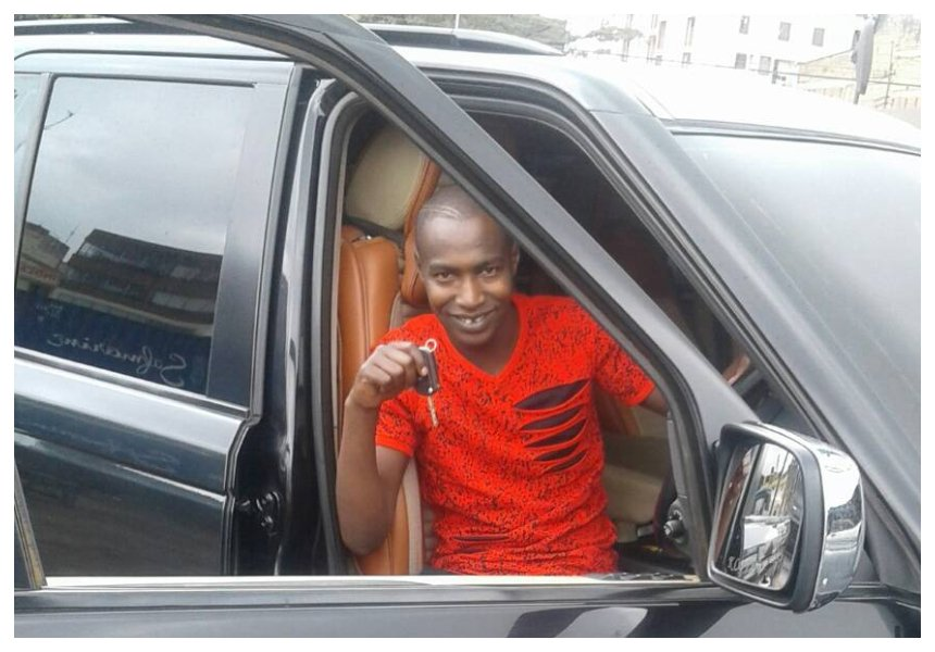 """Mimi nilitoa quarter sponsor ndio alitoa pesa mingi"" Bonoko reveals sponsor bought him his Range Rover"