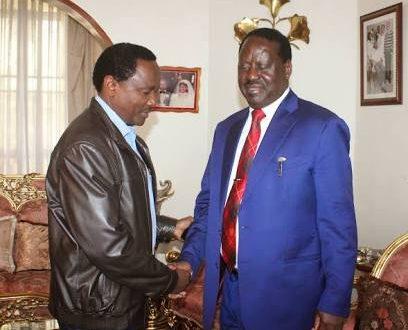 NASA deputy leader Kalonzo Musyoka fails to attend Raila Odinga's swearing in ceremony