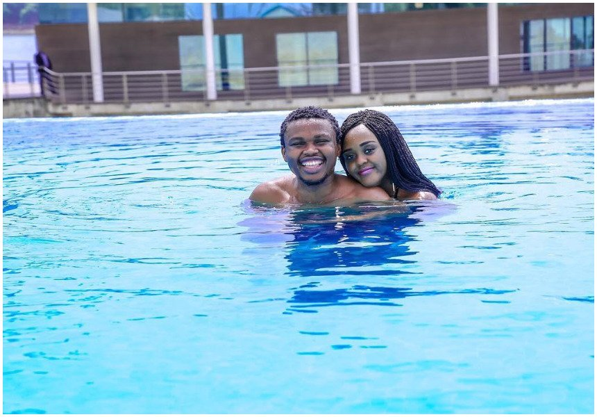 Mapenzi tu! Chipukeezy digs deep into his pocket to spoil his girlfriend on her birthday (Photos)