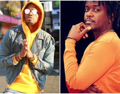 Nyashinski distances himself from viral tweet dissing Diamond Platnumz