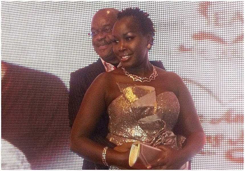 """Young men come with their own problems"" Emmy Kosgei reveals why she chose to marry an old man"