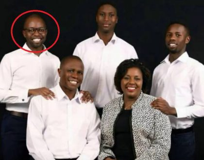 Governor Joyce Laboso's gay son causes a stir as photo of him rocking a dress surfaces