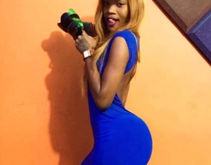 Self esteem issues? Singer Ruby photoshops her 'assets' to look bigger and fans can't sit still! (Photos)