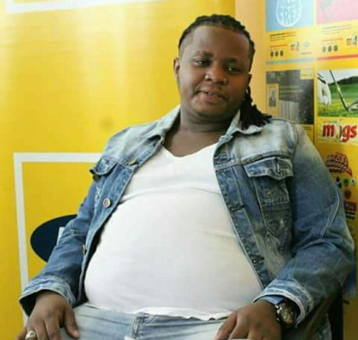 DK Kwenye Beat tells his sad story after years of being fat shamed by fans, this is heartbreaking!