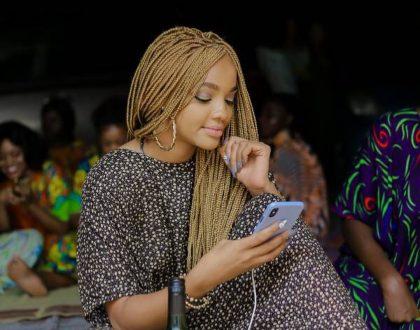 Diamond Platnumz latest fling takes shots at Hamisa Mobetto while at a wedding